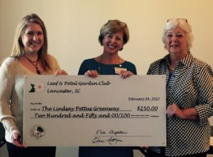 Leaf & Petal Garden Club provides support